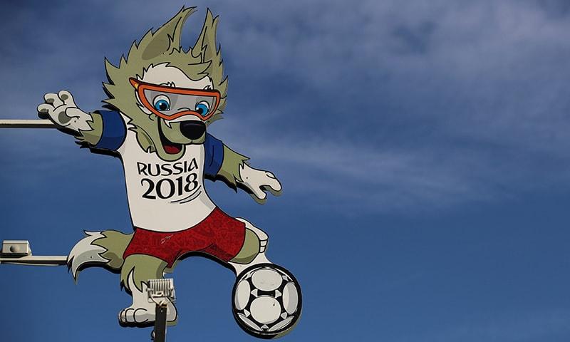 فیفا ورلڈ کپ 2018 کا میسکوٹ زابی واکا