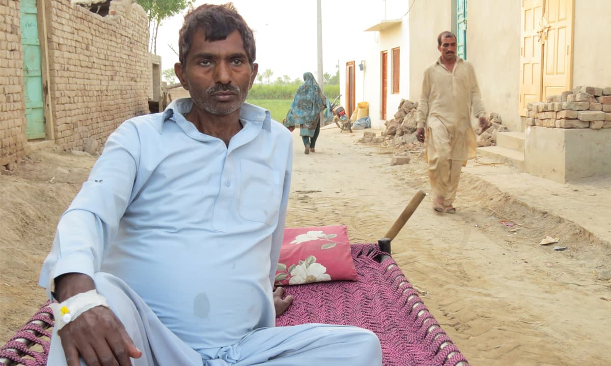 Gulzar Hussain regularly visits a local quack to receive affordable healthcare