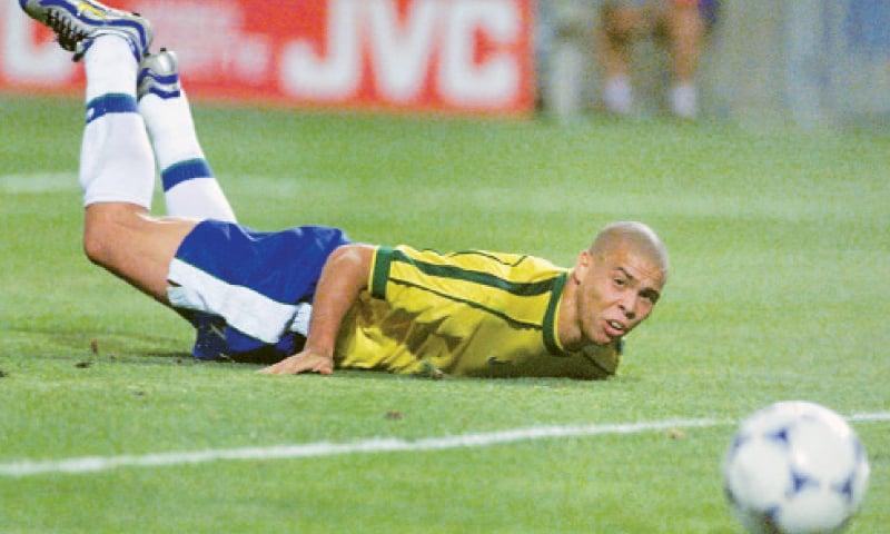 رونالڈو 1998 کے ورلڈ کپ میں
