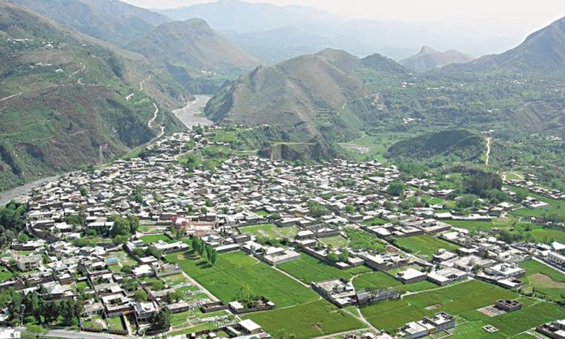 A view of Abbottabad city   Ghar47.com