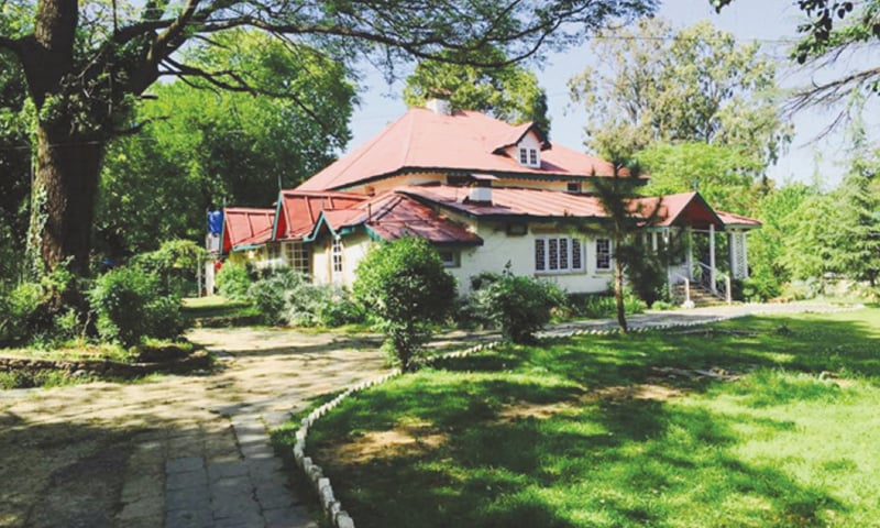 Constructed circa 1850, such houses once dotted Abbottabad's landscape