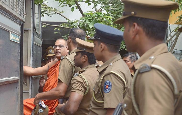 Anti-Muslim Buddhist monk jailed for six months in Sri Lanka