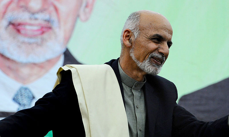 Afghan president touts ceasefire with Taliban in Eid address