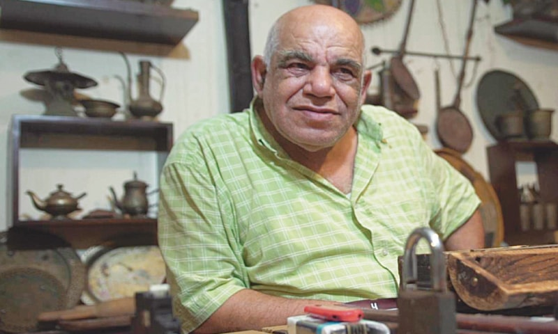 MOHAMED Issi Khatib, who runs his 'Museum of Memory' in the slums of Chatila, worked until his retirement as a doctor for the United Nations Relief and Works Agency.—The Independent