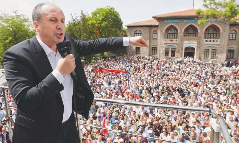 Erdogan, Ince square up for heavyweight Turkey poll fight