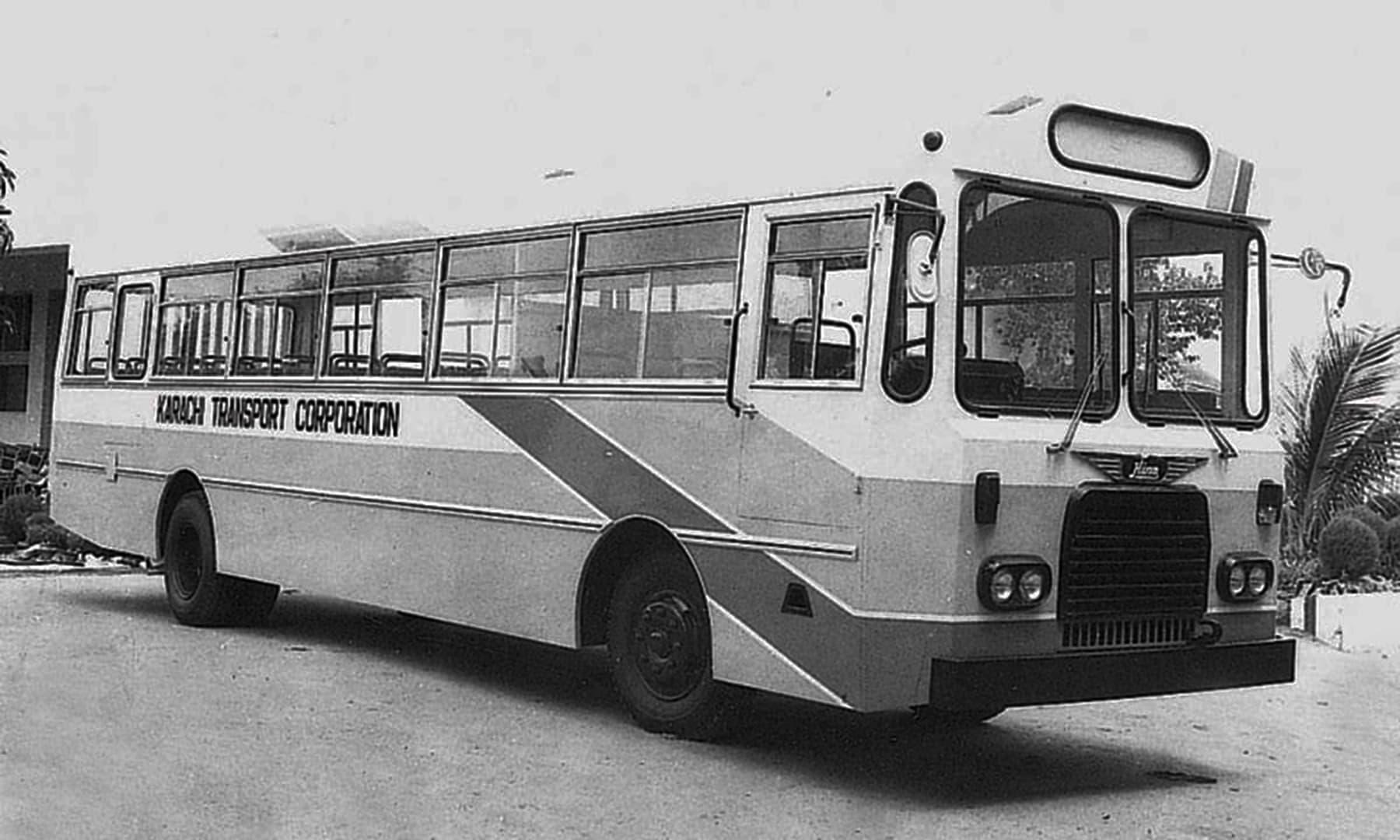 کراچی ٹرانسپورٹ کارپوریشن کی بس