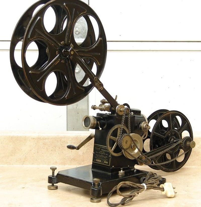 مینوئل فلم پروجیکٹر