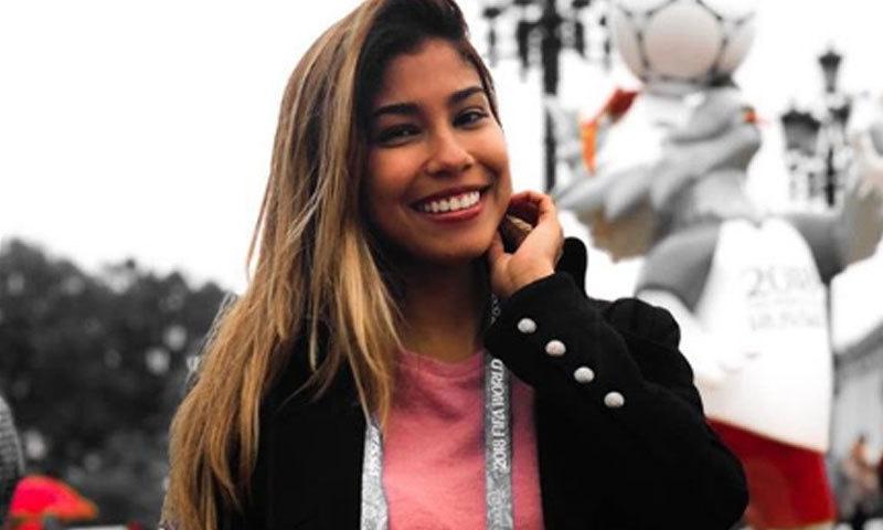 فٹ بال ورلڈکپ: براہ راست کوریج کے دوران خاتون رپورٹر کو بوسہ