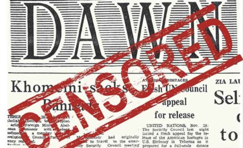 Disruption in distribution of Dawn termed violation of Article 19
