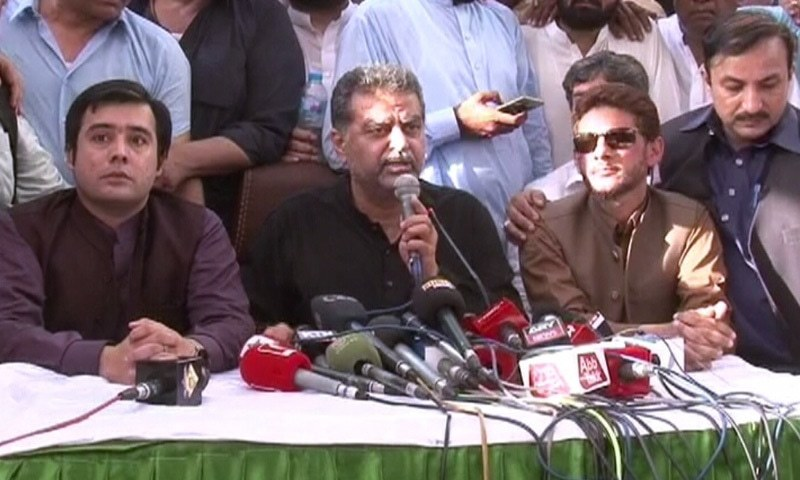 Zaeem Qadri announces to contest election as an independent candidate in Lahore. —DawnNewsTV