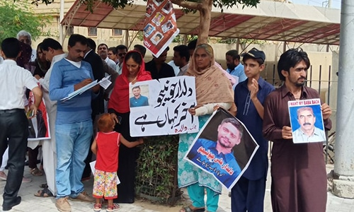 Chaos in SC Karachi registry as missing persons' families turn up in big numbers