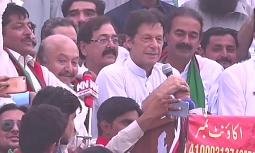 Reiterating 'old promises', Imran Khan launches election drive from Mianwali