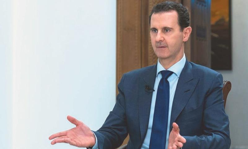 SYRIA'S President Bashar al-Assad.—AP