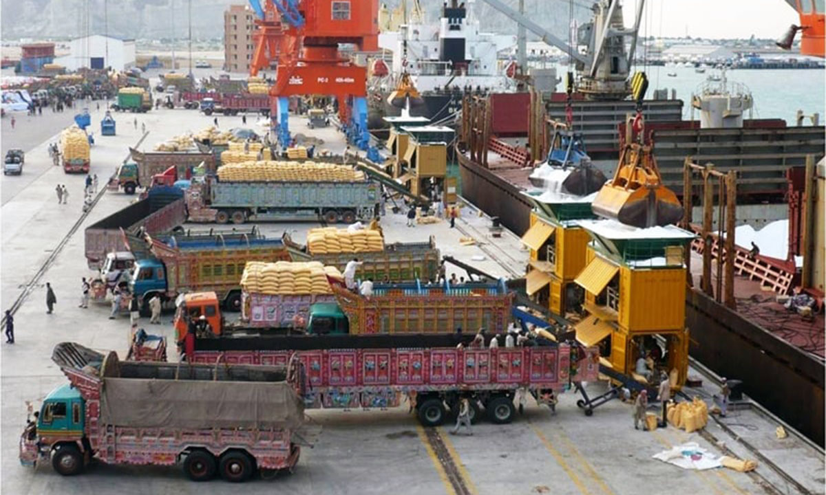 The Gwadar port.—Courtesy Gwadar Port Authority