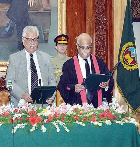 PHC gets new chief justice - Pakistan - DAWN COM