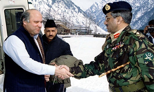 The making of the Kargil disaster