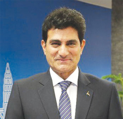 Musharraf Rasool Cyan  is the chief executive officer of Pakistan International Airlines