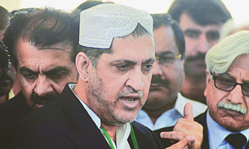 BALOCHISTAN National Party-Mengal chief Akhtar Mengal