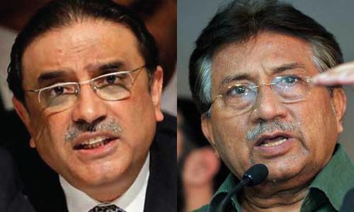 SC seeks assets details of Musharraf, Zardari in NRO losses case