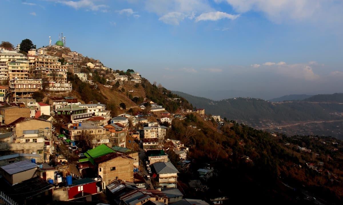 An aerial view of Murree | Danyal Adam Khan