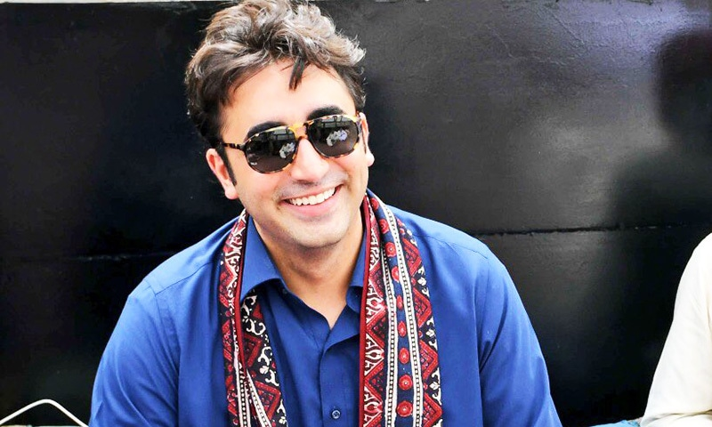 PPP chairman during his election campaign in Sindh. — Photo courtesy Aseefa Bhutto-Zardari via Twitter