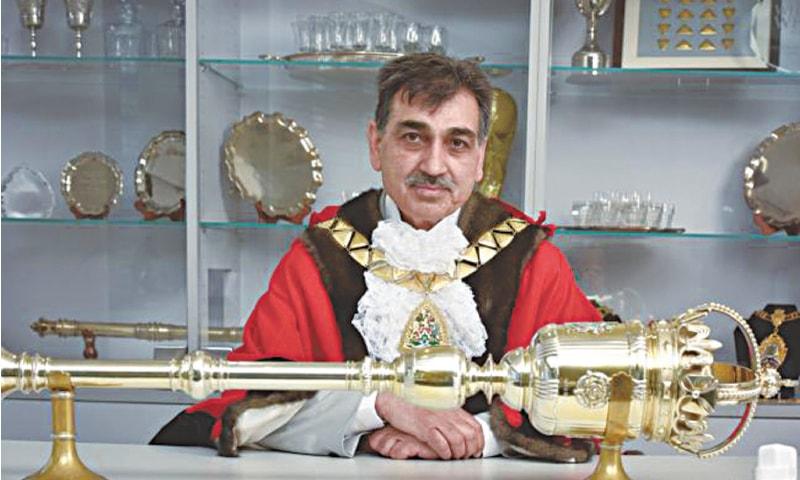 Mayor of Brent Arshad Mahmood