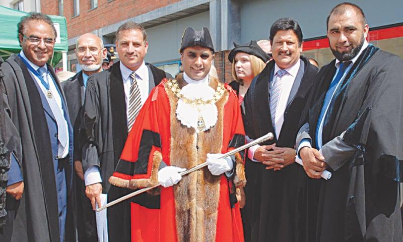 Khalil Ahmad, a British Kashmiri, became Mayor of High Wycombe in 2014