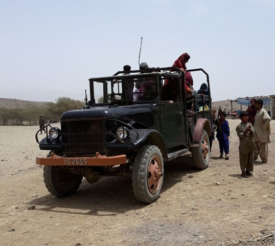 A 12-seater truck known as kekrra