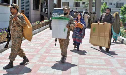Army assures ECP of all help during elections