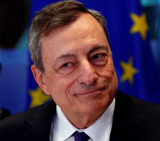European Central Bank President Mario Draghi.—Reuters