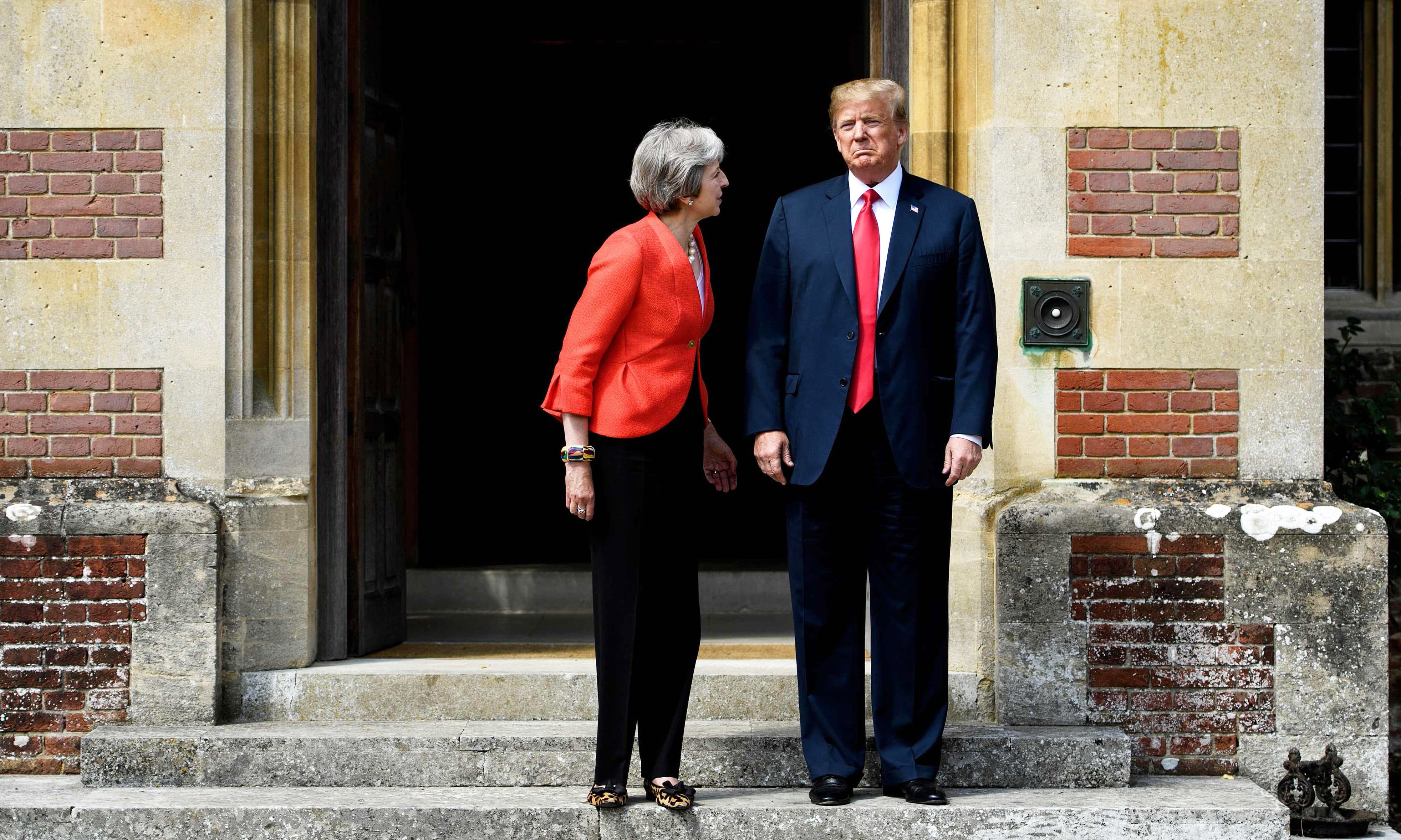 'Where are your manners?' British politicians outraged at Trump
