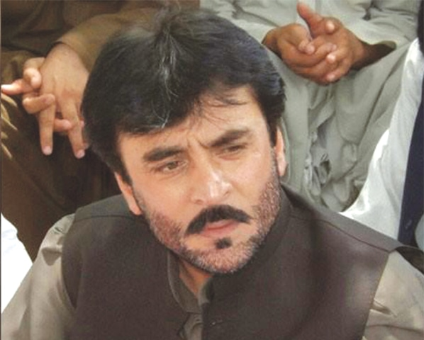 SIRAJ Raisani was contesting for PB-35 seat of Balochistan Assembly.