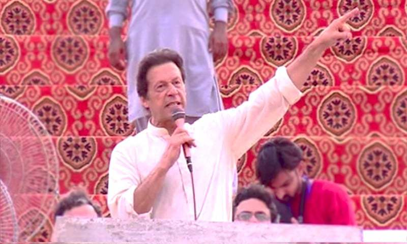 Imran slams media for 'portraying Nawaz as innocent'