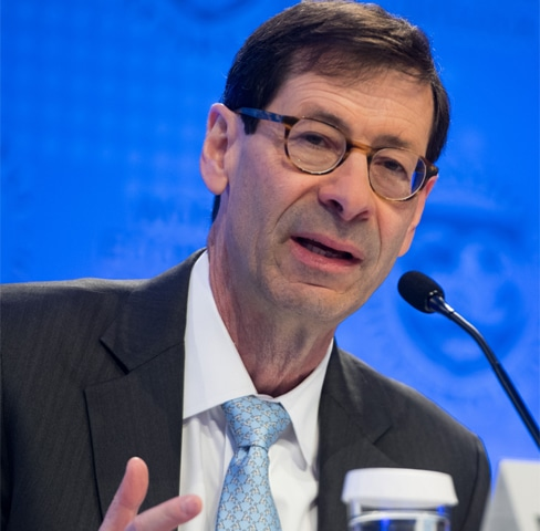 Maurice Obstfeld, Economic Counsellor and Director of the Research Department at the IMF.—AFP