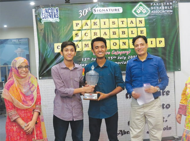 Moiz clinches National Scrabble title