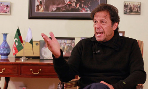 Imran says businessmen to have say in policy-making