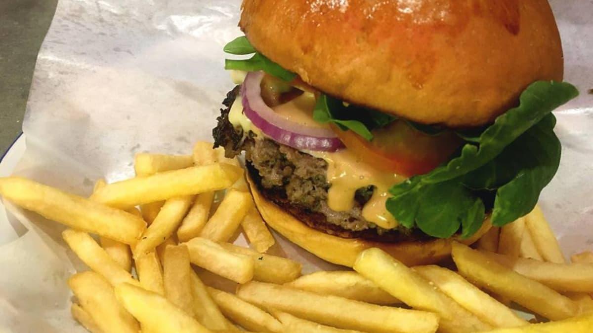 A classic burger, finally!