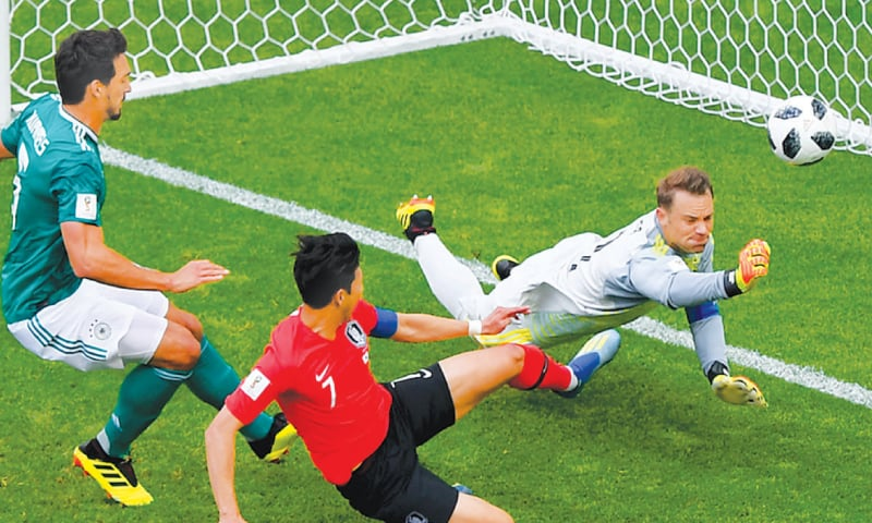 South Korea beat Germany, the biggest upset of this World Cup