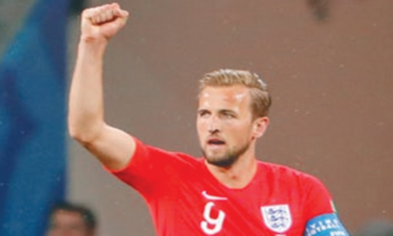 Harry Kane scored six goals, the highest in this World Cup