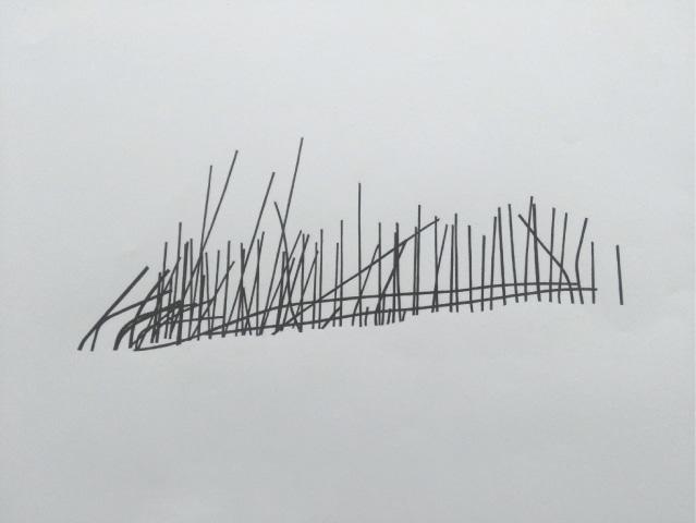 Line Drawing I, Noor Ali Chagani
