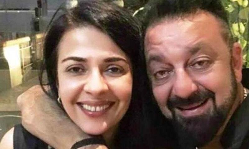 سنجے دت کی بہن نمرتا دت رام گوپال ورما کے فیصلے سے ناراض نظر آتی ہیں—فائل فوٹو: انڈین ایکسپریس