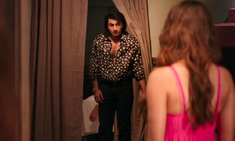 سنجے کی زندگی پر بنائی گئی فلم سنجو 29 جون کو ریلیز کی گئی تھی—اسکرین شاٹ