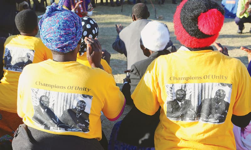 Mugabe still a factor in Zimbabwe's election