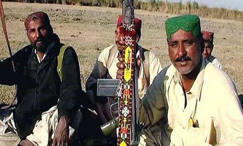 Gulam Rasool (R) alias Chotoo. —File photo