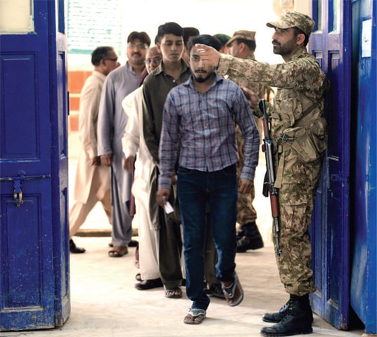 Raja Bazar Rawalpindi: Polling Stations In Rawalpindi, Islamabad See Mixed