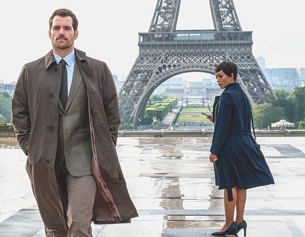 ACTORS Henry Cavill and Angela Bassett in the globetrotting Mission: Impossible - Fallout.—The Washington Post