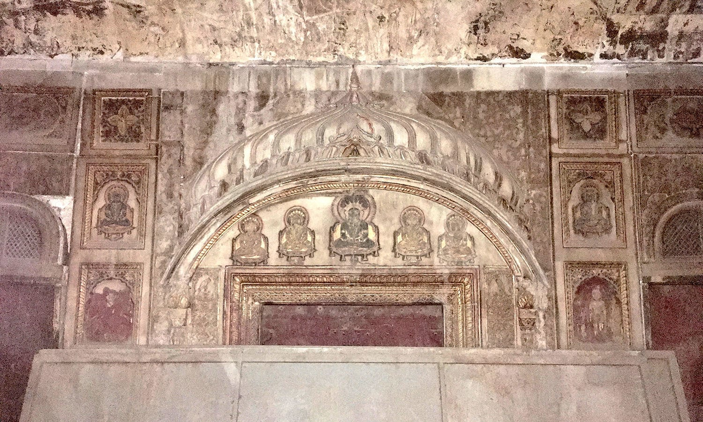 Inside the Jain Mandir