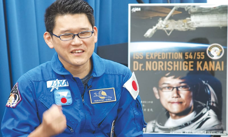 Life on Mars: Japanese astronaut dreams after lake discovery
