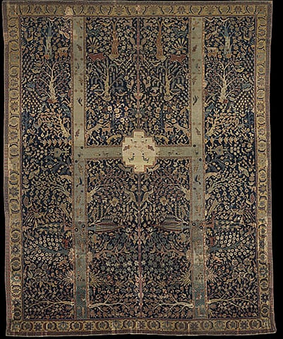 'Wagner Garden Carpet' from the Burrell Collection