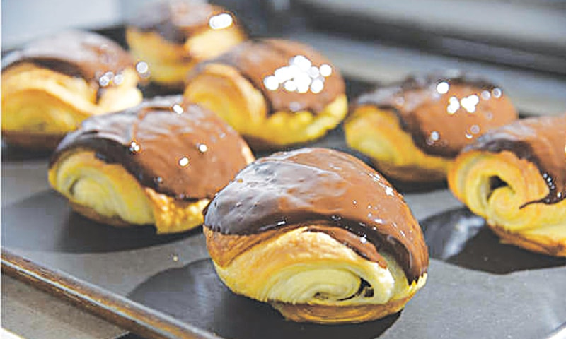 'Dirty bun' which debuted the Chinese market back in 2017, is essentially a chocolate croissant mounded with rich chocolate, inside and outside.